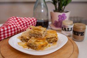 traditional balkan saint day food