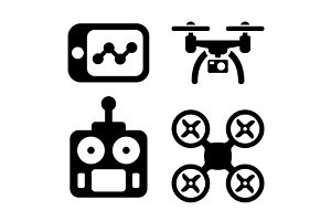Quadrocopter Icons