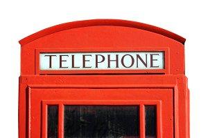London telephone box transparent PNG