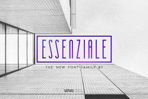 Essenziale - Font Family