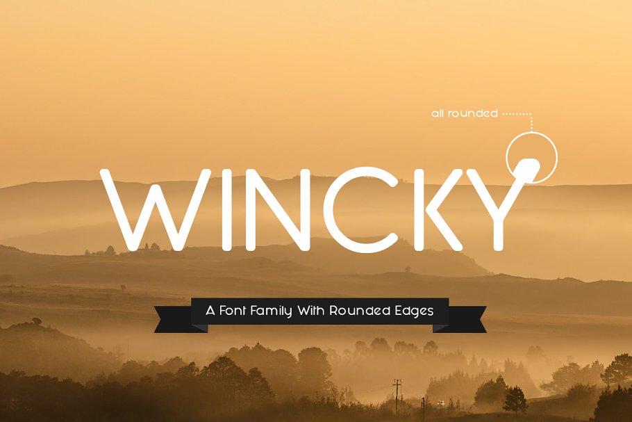 Wincky Font