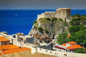 Ancient castle of Dubrovnik