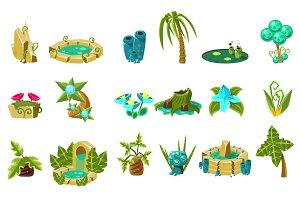 Landscape Elements Set