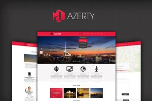AZERTY - Multi-Purpose PSD Template