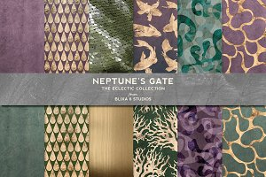 Neptune's Gate Rose Gold Patterns