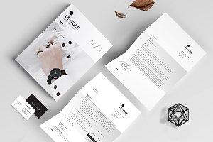 Magazine Media Kit and Identity