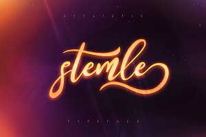 Stemle Stylistic Font