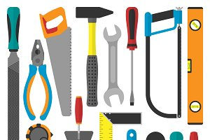 Home repair tools vector
