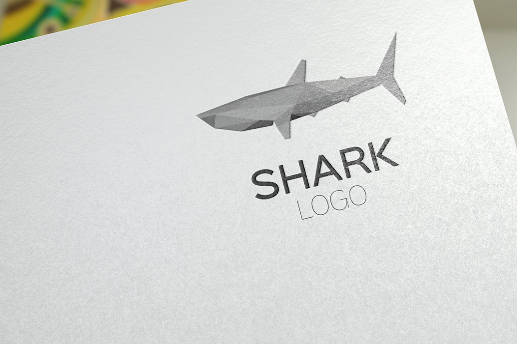 shark logo template logo templates creative market