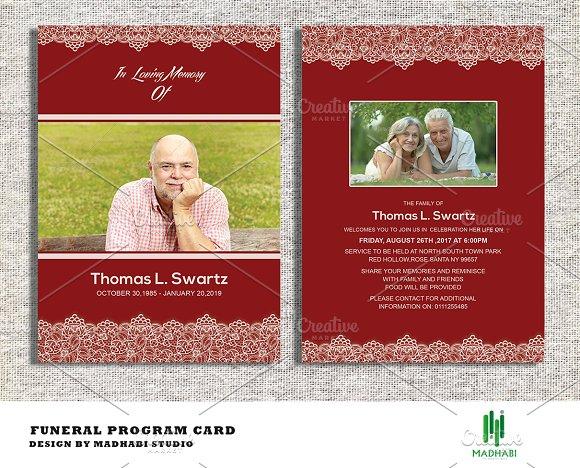 Funeral Announcement or Invitation Invitation Templates on – Funeral Invitation Templates