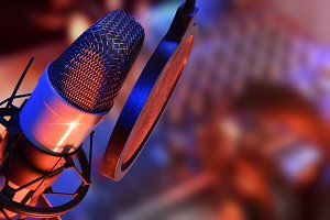 Studio microphone live production