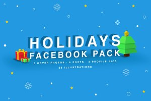 Holiday Facebook Pack