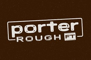 Porter Rough FT - Vintage Font