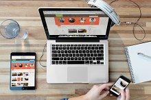 Workplace Responsive Device Mockups