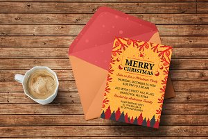 Indie Christmas Invitation
