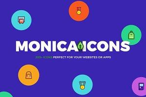 Monica icons mega bundle