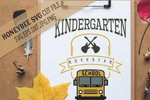 Kindergarten Rockstar