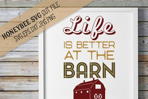 Life is Better at the Barn