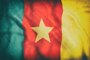 Old Cameroon flag