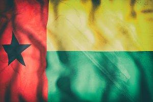 Old Guinea Bissau flag