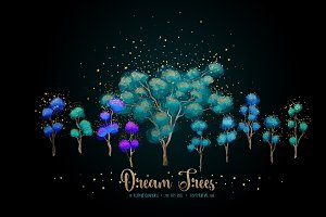 Dream Trees Illustrations