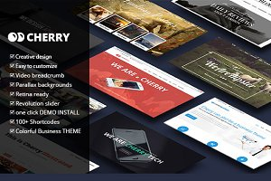 Cherry Multipurpose Wordpress Theme
