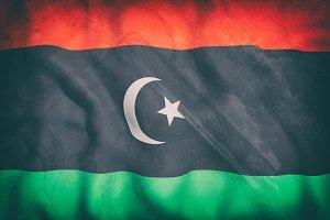 Old Libya flag