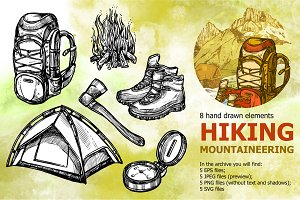 Mountain Hiking Set
