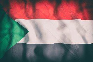 Old North Sudan flag