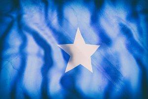 Old Somalia flag