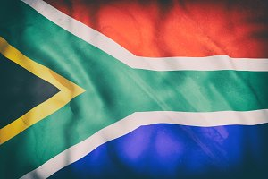Old South Africa flag