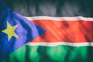 Old South Sudan flag