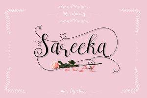 Sareeka Script ( Lovely Sale 30% )