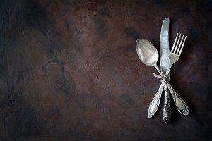Vintage cutlery / silverware