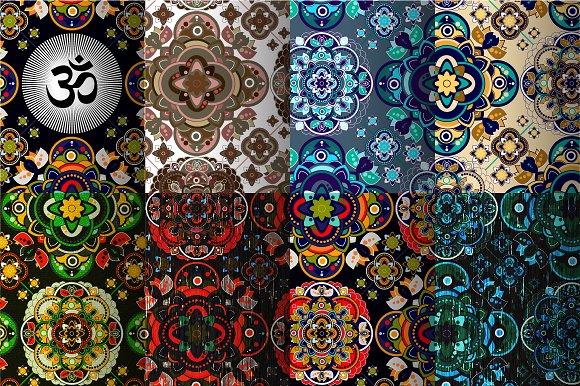 8 Vintage Indian Patterns