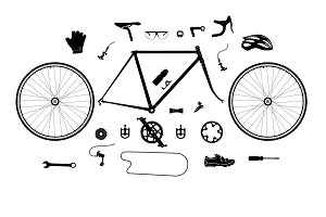 Road bicycle parts and accessories