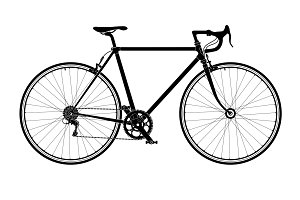 Classic road bicycle