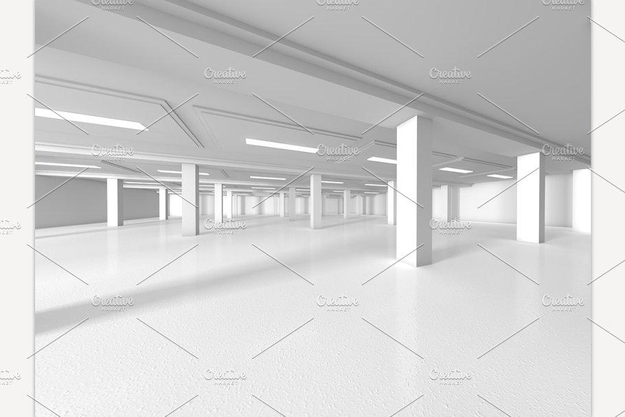 Remarkable Empty Showroom 3D Rendering Download Free Architecture Designs Scobabritishbridgeorg