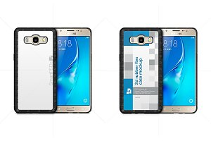 Galaxy J5 2016 2d Rubber Phone Case