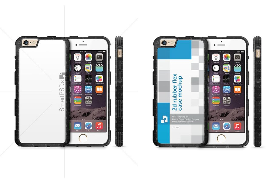 iPhone 6s 2d ShockProof TPU Phone