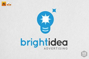 Bright Idea Logo Template