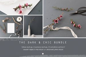 The Dark & Chic mock up BUNDLE