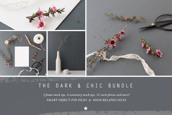 The Dark & Chic mock up BUNDLE