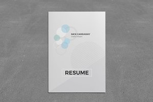 Resume Booklet (8 Pages)