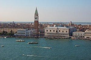 St Mark square in Venice