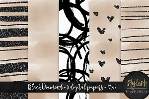 Black Diamond Digital Paper