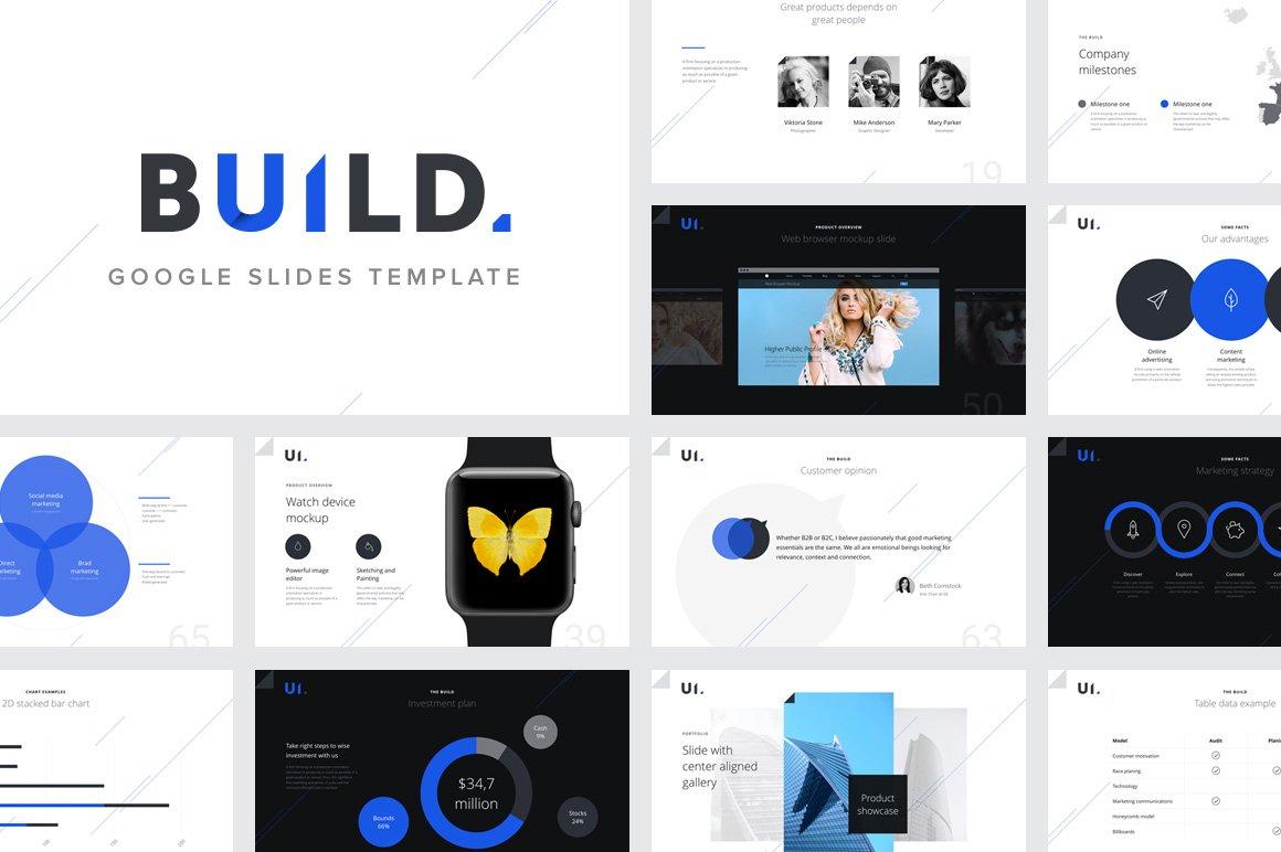 build google slides template presentation templates creative market