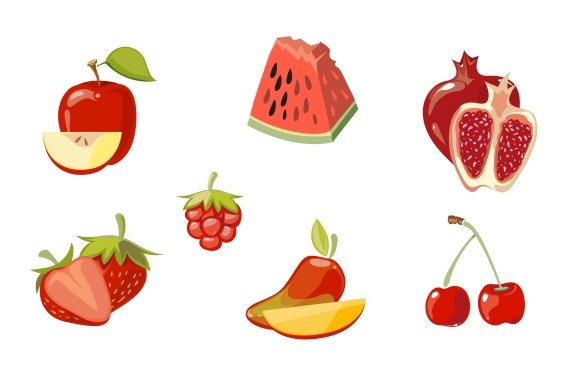 Red Fruits Collection