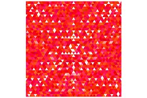 Red Triangles Pattern