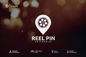 Reel Pin - Cinematography Logo